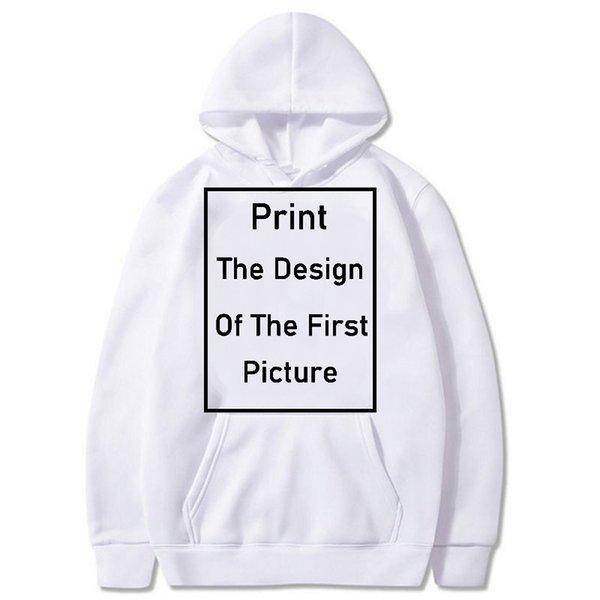 hoodie bianco