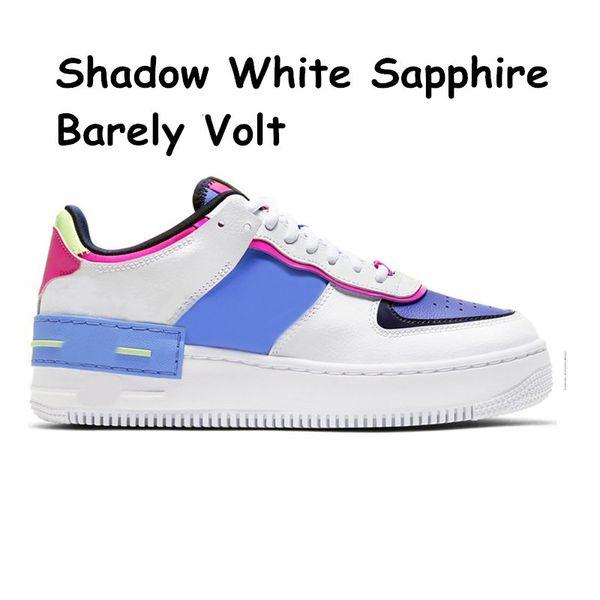 3 Schatten-weißer Saphir kaum 36-45