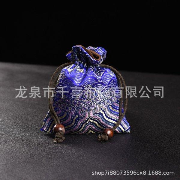 Xiangyun azul 10x12-backs bolso