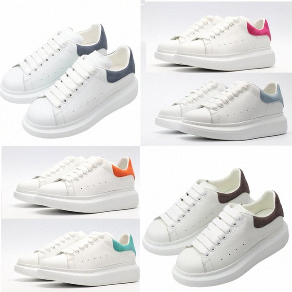 top popular top quality with box 2020 designer fashion espadrille mens women platform oversized sneaker shoes sneakers 36-45 #512 T0h6# 2021