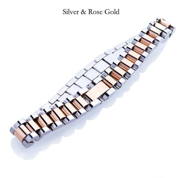 Silver Rose Gold