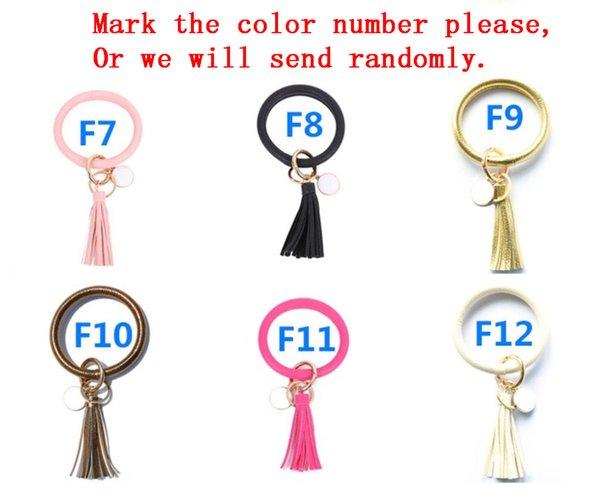 F7-F12