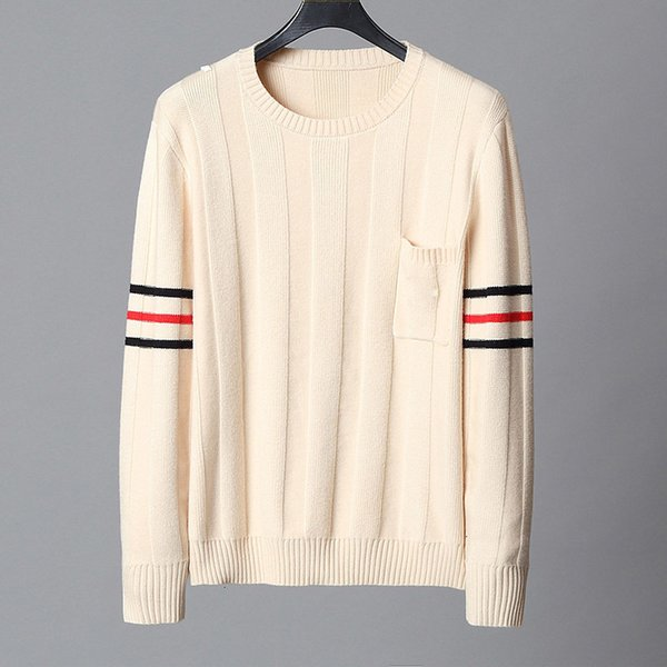 top popular TOP quality Men Designer sweaters Long Sleeve fashion Brand Top Autumn Spring luxury clothing letter embroidery pullover Sweater Coat jumper 2020