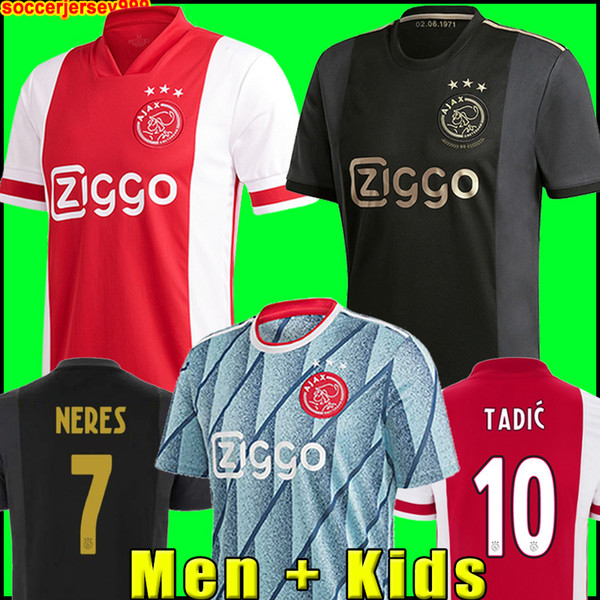 best selling 20 21 AJAX amsterdam soccer jersey FC 2020 2021 KUDUS ANTONY BLIND PROMES TADIC NERES CRUYFF men kids kit football shirt uniforms third 50th
