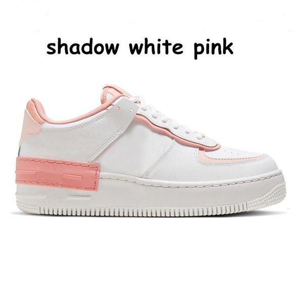 10 Schatten weiß rosa 36-40