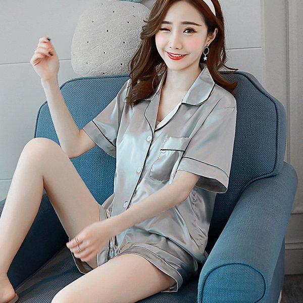 Weimi Short Silver Grey
