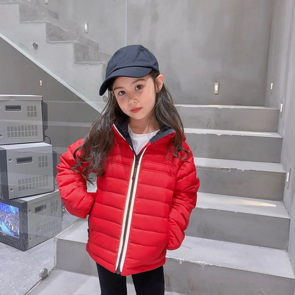 top popular 5 Colors Baby Girls Boys Jackets Winter Outdoor Clothing Children's Solid Warm Coat Kids Girl Hooded Outerwear 2021