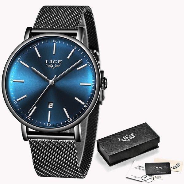 Black Silver Blue