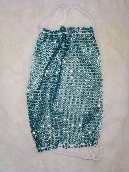 Kristallblau-one-Größe # 38813