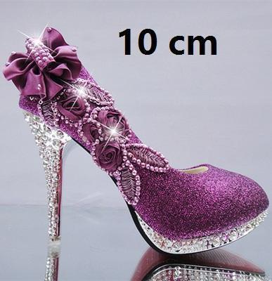 Roxo 10 cm.