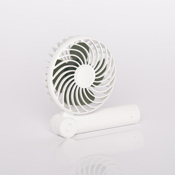top popular Portable mute mini Fan USB portable Folding telescopic cross - border hot selling handheld charging fan, folding portable fan, home 2021