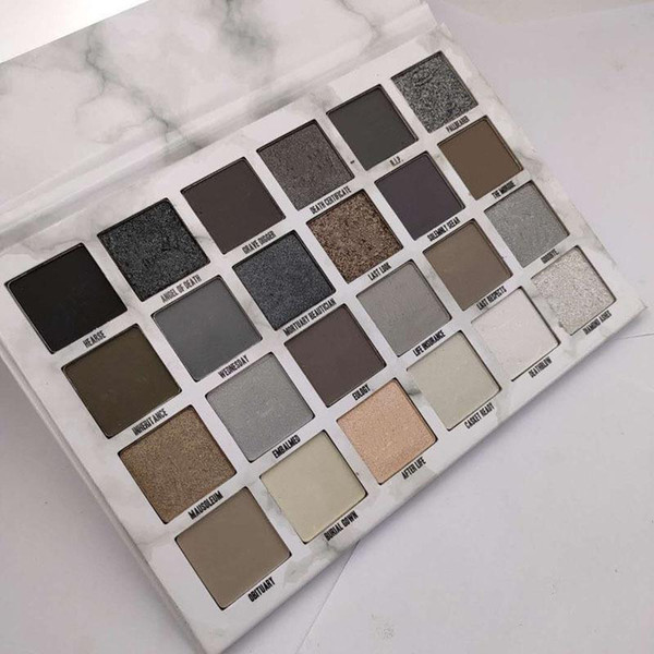 top popular 2021 High quality Cosmetics Cremated 24-color Eye Shadow Palette DHL fast shipping 2021
