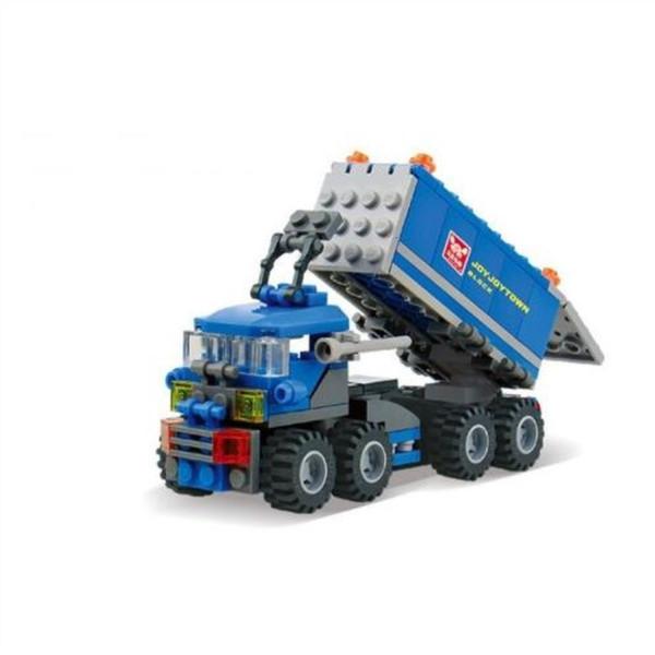 best selling J 163pcs ings Deformed Truck Car Building Blocks Toy Kit Educational DIY Children Christmas Birthday Gifts