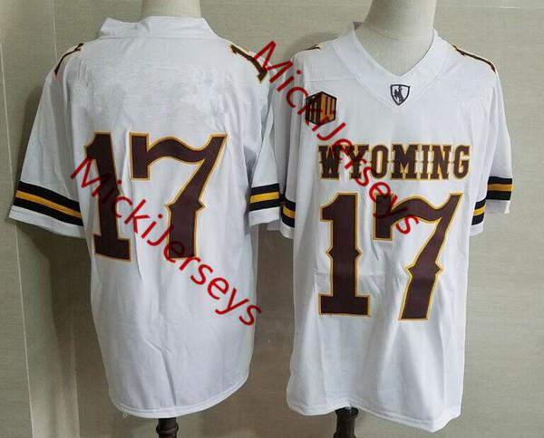 # 17 Josh Allen Wyoming / Nenhum nome