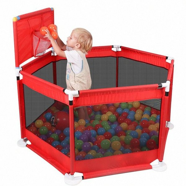 top popular Baby Playpen Fence Folding Barrier Kids Park Children Play Pen Oxford Cloth Game Infants Tent Ball Pit Pool Baby Playground G8dT# 2020