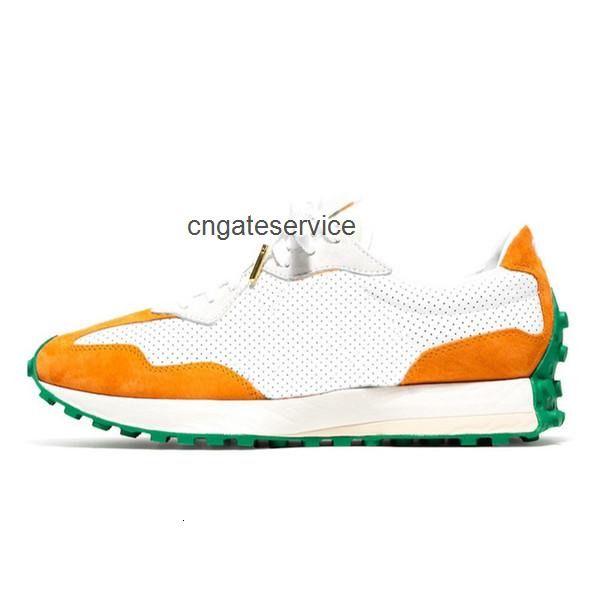 17 Orange White