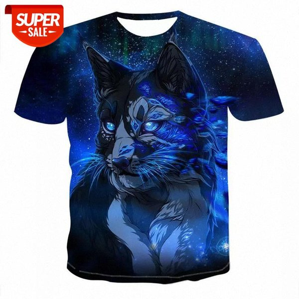 best selling 2020 Men Animal t shirt 3D Print tshirt Men Funny tees tops Short Sleeve O-neck 3D Print Summer Clothes XXS-6XL #fB06
