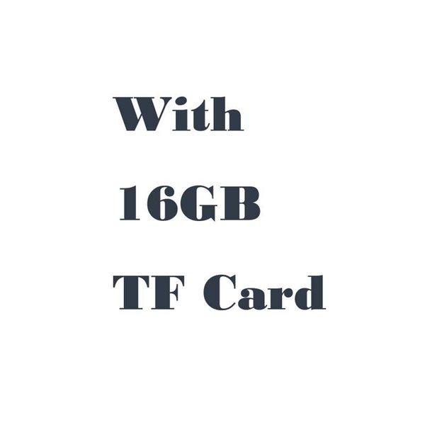 Com Cartão de 16GB TF