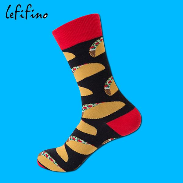 Calcetines-Uno Rojo Tamaño