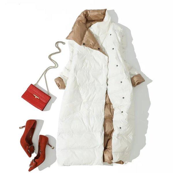 Beyaz aşağı ceket