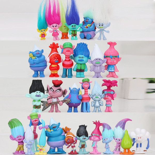 best selling Trolls Action Toys Branch Critter Skitter Figures Trolls Children Action Figure Toy 201202