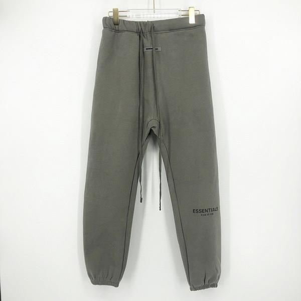 calça cinza de carvão vegetal