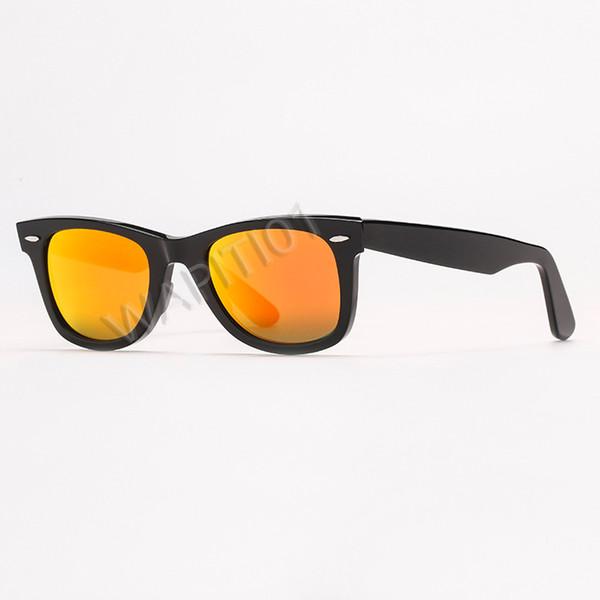 Miroir noir / orange