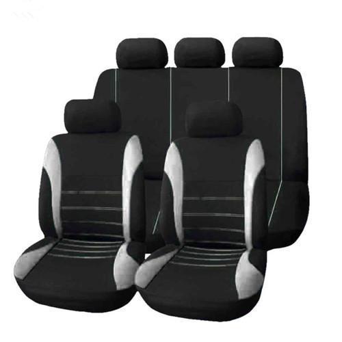 Cinq sièges gris