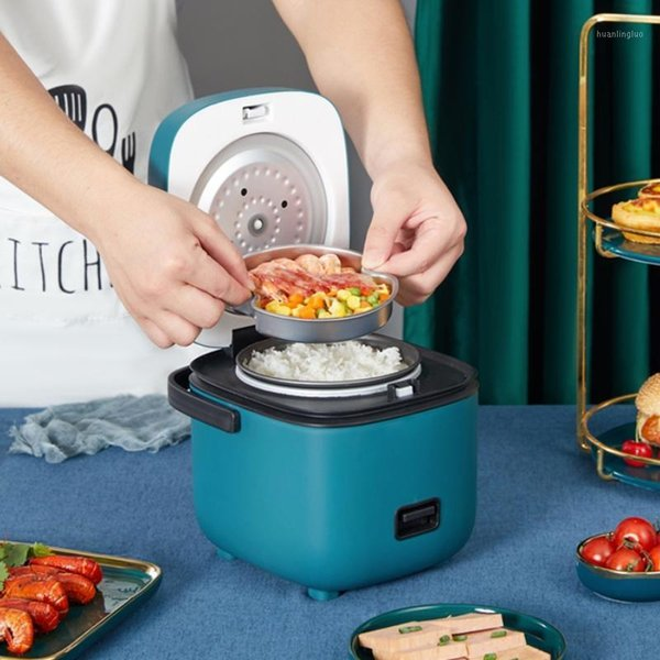 best selling Mini Electric Rice Cooker Intelligent Automatic Household Kitchen Cooker 1-2 People Small Electric Rice Cookers 1.2L1