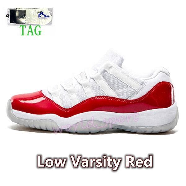 24. Varsity Red.