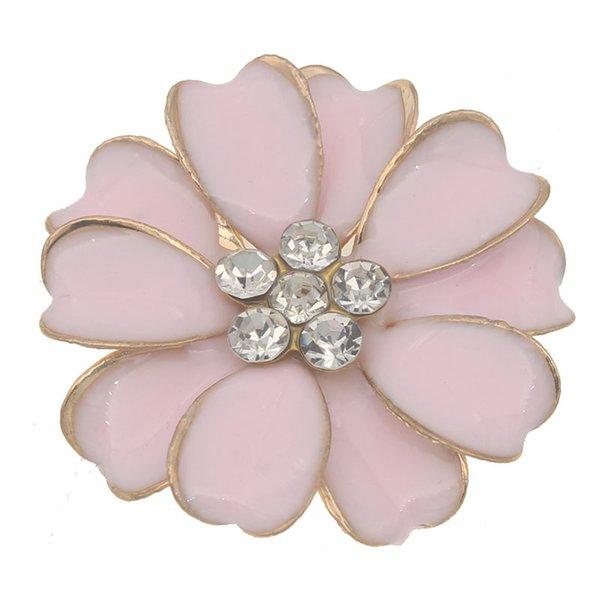 rosa con cristalli