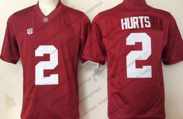 2 Jalen Hurts Red