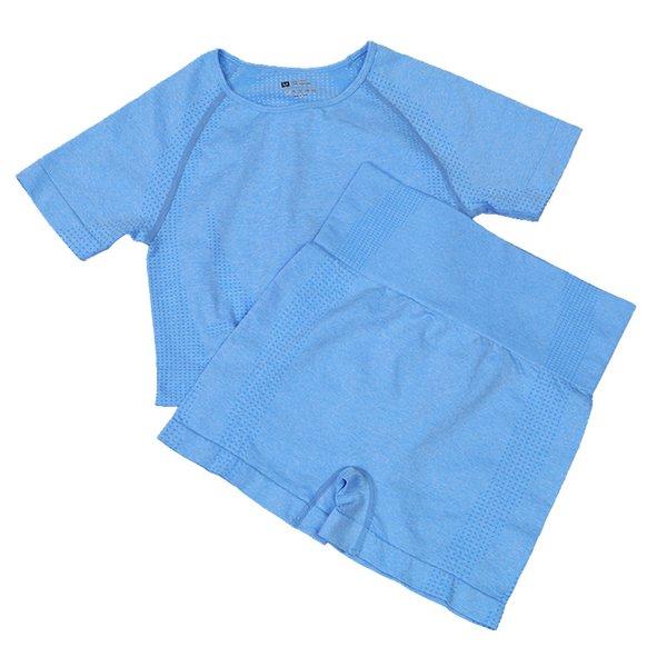 Brevi pantaloncini blu