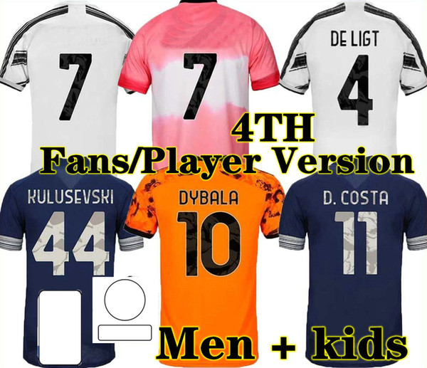 top popular Top quality 20 21 PLAYER VERSION FANS Home Soccer Jersey Adult man third Goalkeeper kids boy kit 2020 2021 Away Football shirt 2021