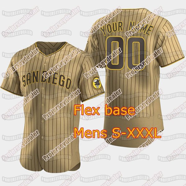 Strips marrones Flex Base Mens S-XXXL