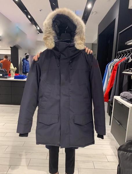 top popular Winter Jacket Men Outdoor Down Jacket Mens Casual Hooded Down Coats Outerwear Man warm jackets men Parkas puffer jackets bomber 2021