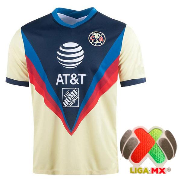 QM734 2020 Home Liga MX patch