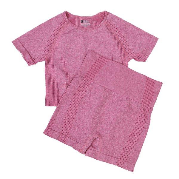 Pantaloncini corti rosa
