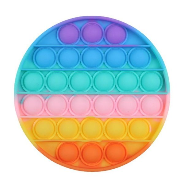 Colorful round
