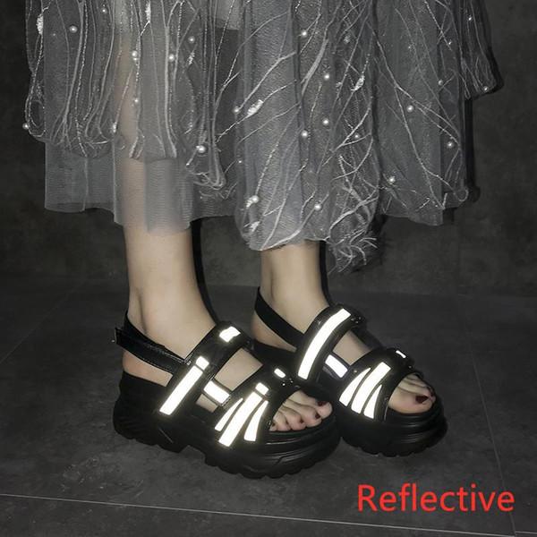 BLACK REFLECTIVE