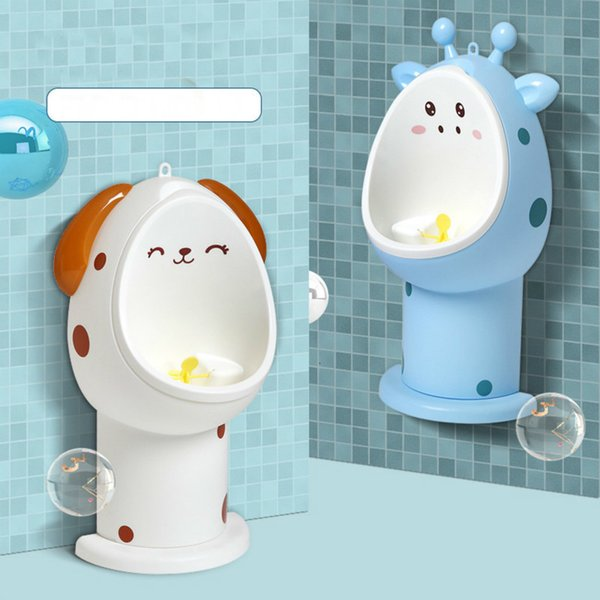best selling Baby Boy Potty Training Toilet Training Children Stand Vertical Urinal Boys Pee Infant Toddler Wall-Mounted Hook Potty Toilet LJ201110