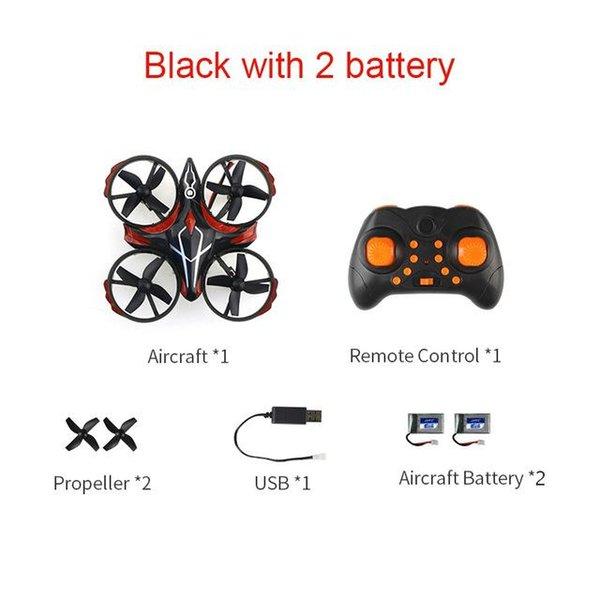Schwarz mit 2 Batterie China