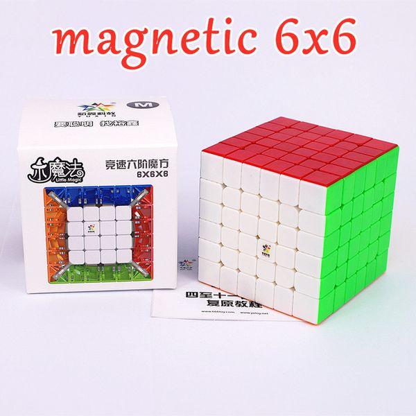 6x6 magnético