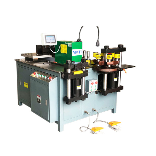 top popular CNC Puncher Cutting Bending Machine With Punch Round Dies For Copper Plate Steel 2020
