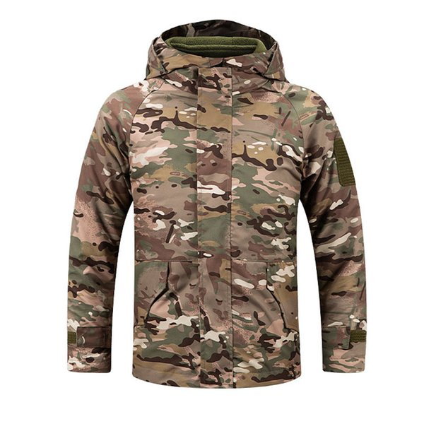best selling Outdoor Gear Jungle Hunting Woodland Shooting Coat Combat Children Clothing Camouflage Kid Child Jacket with Warm clothing P05-226