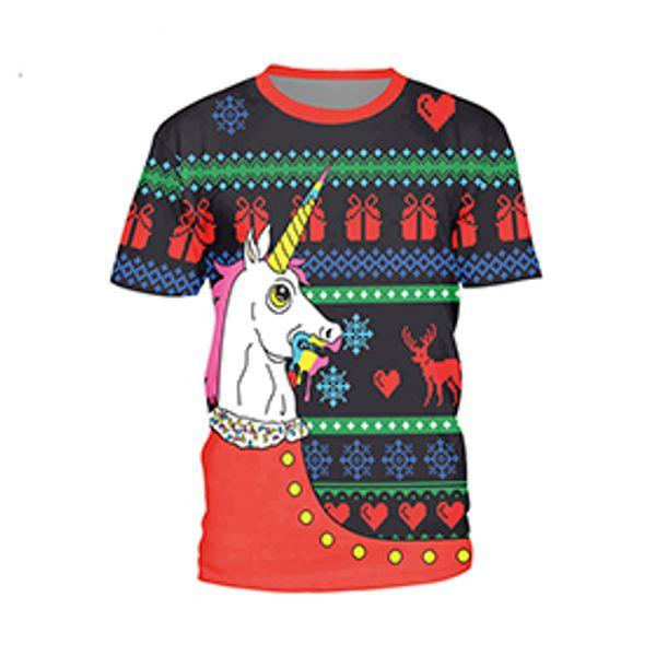 Christmas horse-SB121-003