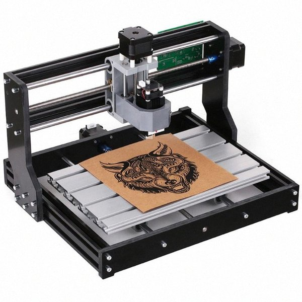 top popular CNC3018 PRO DIY CNC Router Kit Mini Engraving Machine GRBL Control 3 Axis for PCB PVC Plastic Acrylic Wood Carving Milling F9th# 2021