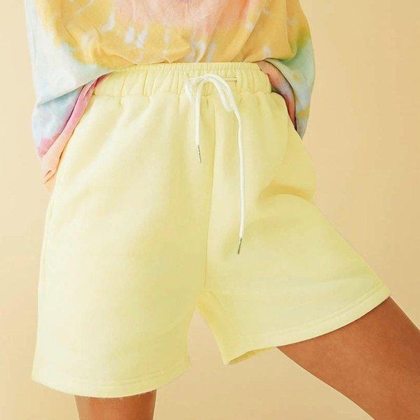 Shorts amarelos