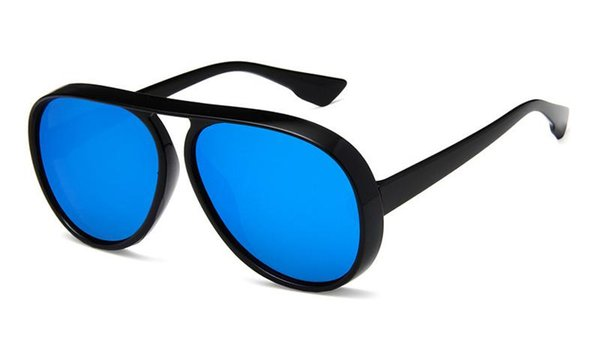 Cadre noir bleu