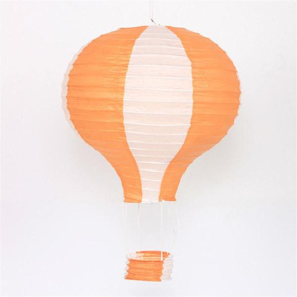 16 polegadas faixa laranja